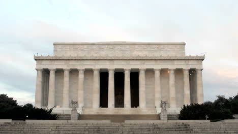 Pedestrians-and-tourists-walk-around-and-through-the-Lincoln-Memorial-in-Washington-DC