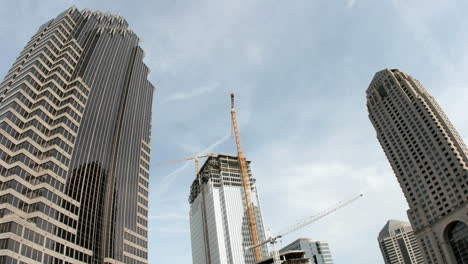Clouds-roll-over-skyscrapers-and-a-construction-site-as-a-day-passes-in-downtown-Atlanta-Georgia