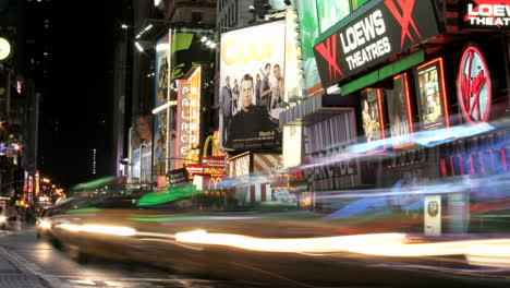 Accelerated-traffic-moves-past-billboards-in-New-York-s-Times-Square