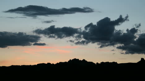 Slow-rightpan-of-colors-intensifying-and-fading-in-a-goldenhour-sky