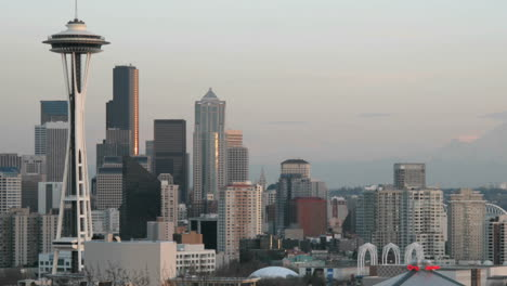 The-Seattle-Space-Needle-stands-on-the-left-of-this-timelapse-shot-of-Seattle-s-skyline