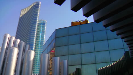 High-rises-accent-the-beautiful-skyline-of-Abu-Dhabi-in-the-United-Arab-Emirates-1