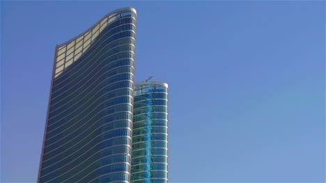 Whip-pan-to-high-rises-in-Abu-Dhabi-in-the-United-Arab-Emirates