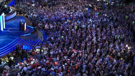 Former-President-Bill-Clinton-Delivers-A-Pro-Barack-Obama-Speech-To-A-Packed-Pepsi-Center