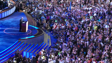 Former-President-Bill-Clinton-Receives-A-Standing-Ovation-While-He-Delivers-A-Pro-Barack-Obama-Speech