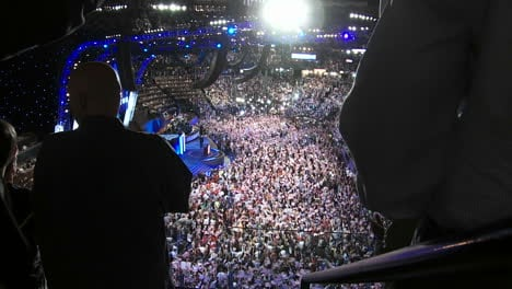 A-Standing-Ovation-For-Former-President-Bill-Clinton-As-He-Delivers-A-Pro-Barack-Obama-Speech