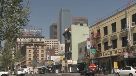 A-View-Of-Downtown-Los-Angeles-California-From-The-Fashion-District