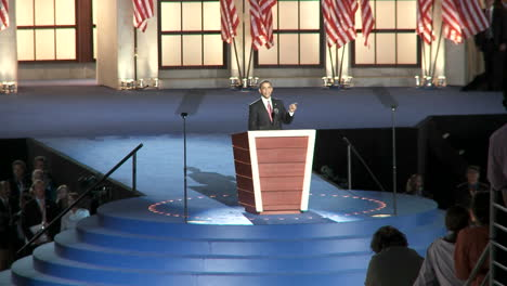 Presidential-Nominee-Barack-Obama-Addresses-A-Packed-Investco-Field-About-The-Scare-Tactics-Of-The-Republicans-At-The-End-Of-The-2008-Democratic-National-Convention-In-Denver-Colorado