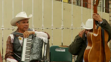 Musicians-Chat-In-Downtown-Tijuana-Mexico