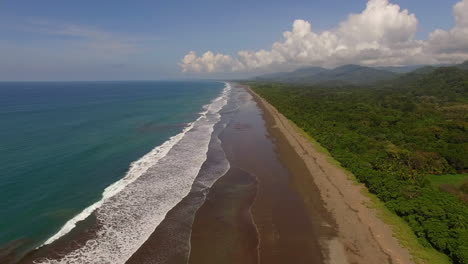 Beautiful-Aerial-Over-The-Coast-And-Beaches-Of-Costa-Rica-1