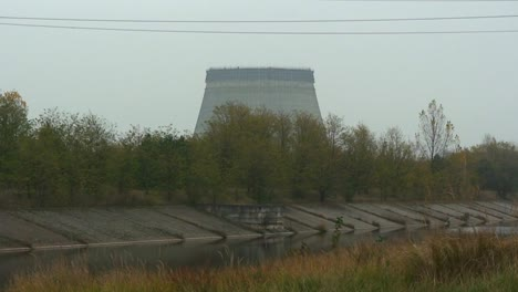 The-reactors-after-the-nuclear-disaster-ruins-at-Chernobyl