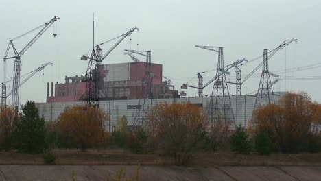 The-abandoned-ruins-of-the-Chernobyl-nuclear-power-plant