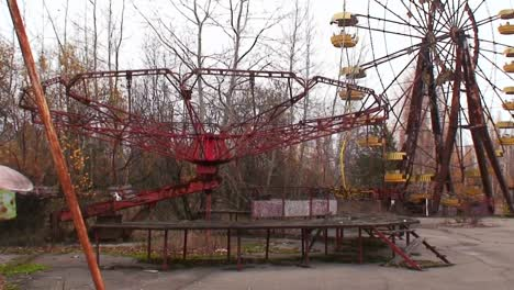 An-abandoned-amusement-park-near-the-Chernobyl-nuclear-power-plant-disaster