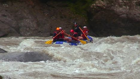 White-water-rafting-on-a-river-in-Costa-Rica-1
