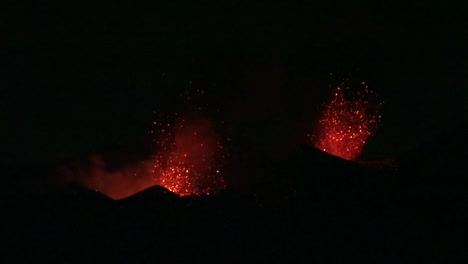 The-Cabo-Verde-volcano-erupts-at-night-in-spectacular-fashion-on-Cape-Verde-Island-off-the-coast-of-Africa-7