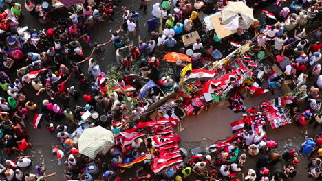 Overhead-view-of-protestors-in-Cairo-Egypt-1