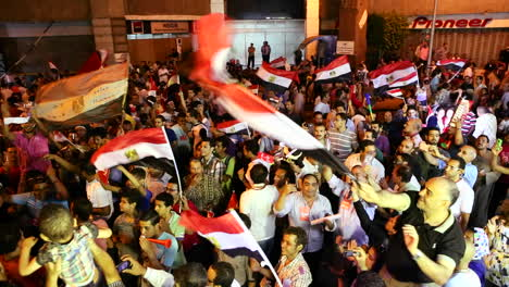 Crowds-protest-at-a-nighttime-rally-in-Tahrir-Square-in-Cairo-Egypt-2
