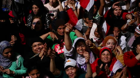 Protestors-chant-at-a-nighttime-rally-in-Tahrir-Square-in-Cairo-Egypt-3