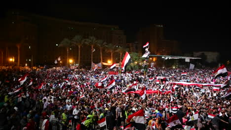 Protestors-chant-at-a-nighttime-rally-in-Tahrir-Square-in-Cairo-Egypt-4