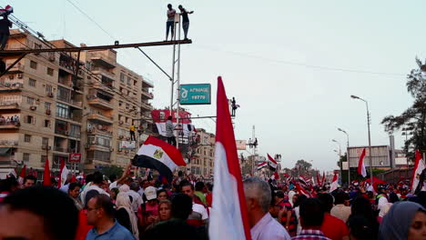 Protestors-jam-the-streets-in-Cairo-Egypt