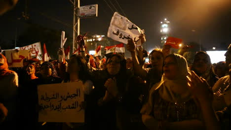 Protestors-chant-in-Tahrir-Square-in-Cairo-Egypt