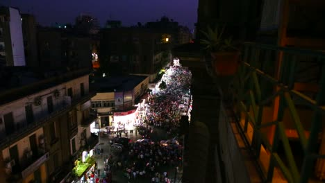 Overhead-view-of-a-large-nighttime-protest-rally-in-the-stets-of-Cairo-Egypt-1