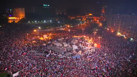 View-overlooking-an-enormous-nighttime-rally-in-Tahrir-Square-in-Cairo-Egypt
