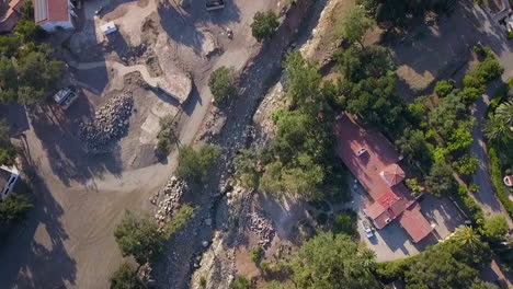 Aerial-Over-The-Debris-Flow-Mudslide-Area-During-The-Montecito-California-Flood-Disaster-1