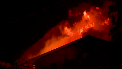 A-House-Burns-At-Night-During-The-Holiday-Fire-In-Goleta-California-1