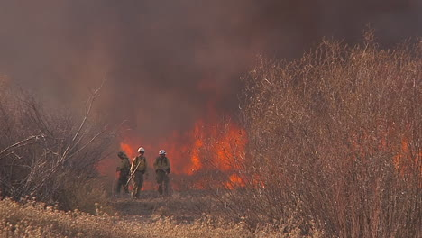 Firefighters-Look-On-As-A-Blaze-Burns-Out-Of-Control-In-California-1