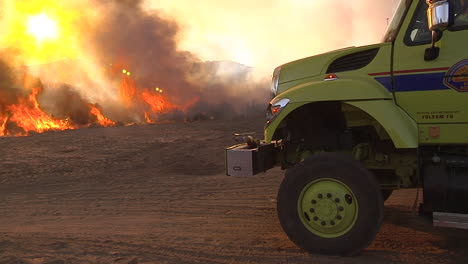 Firefighters-Look-On-As-A-Blaze-Burns-Out-Of-Control-In-California-5