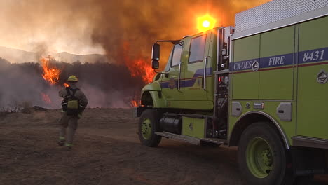 Firefighters-Look-On-As-A-Blaze-Burns-Out-Of-Control-In-California-6