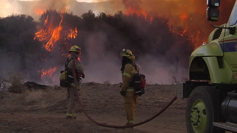 Firefighters-Look-On-As-A-Blaze-Burns-Out-Of-Control-In-California-7