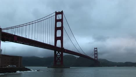View-Of-The-Golden-Gate-Bridge-Stretching-From-San-Francisco-Across-The-Bay-To-The-Marin-Headlands
