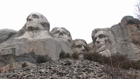 A-Worm-S-Eye-Montage-Of-Mt-Rushmore-From-Unusual-Perspective