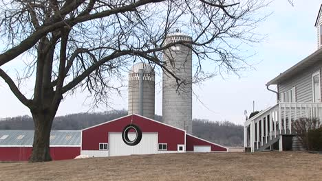 A-Farm-Complete-With-Red-Barns-Silos-And-Tire-Swing-For-The-Kids