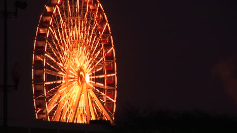 Eyecatching-Lighting-On-A-Ferries-Wheel-Is-Sure-To-Catch-Attention-Of-Fairgoers