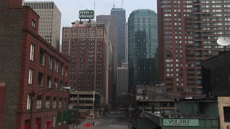 """The-Inn-Of-Chicago""""""""-Sign-Stands-Out-In-This-Look-At-Downtown-Chicago-Buildings"""""""""""