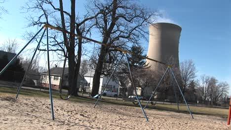 An-Otherwise-Typical-Residential-Neighborhood-Has-Been-Joined-By-A-Nuclear-Power-Plant