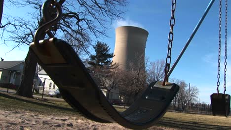 A-Child-S-Swing-Residential-Homes-And-A-Nuclear-Power-Plant-All-Within-Close-Proximity