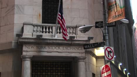 The-New-York-Stock-Exchange-And-The-Wall-Street-Sign-In-The-Financial-District-Of-New-York