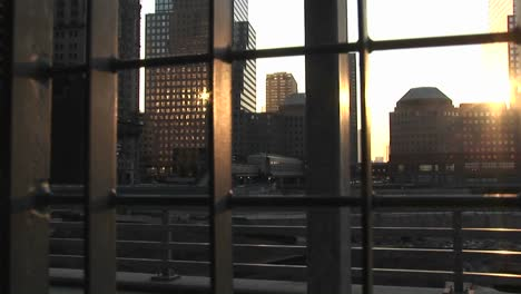 Sunlight-Reflects-On-The-Windows-Of-High-Rise-Office-Buildings