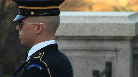 Soldiers-Follow-Orders-As-They-Guard-The-Tomb-Of-The-Unknown-Soldier