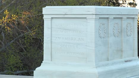 The-Camera-Zoomsin-On-The-Tomb-Of-The-Unknown-Soldier-In-Washington-Dc