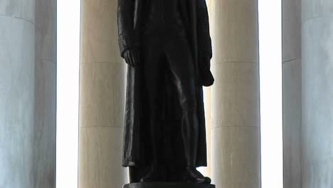 A-Statue-Of-Thomas-Jefferson-Is-Seen-Standing-Inside-The-Jefferson-Memorial-Building-1