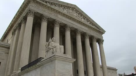 A-Wormseye-View-Of-Stairs-And-Columned-Entrance-To-The-Supreme-Court
