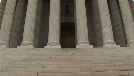 Stone-Steps-Lead-To-The-Columned-Entrance-To-The-Supreme-Court