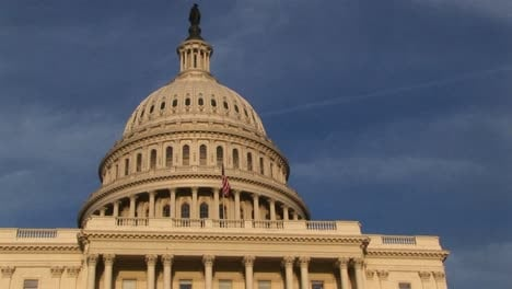 Looking-Up-From-The-Base-Of-The-Us-Capitol-Building-To-Upperlevel-Balcony-Just-Below-The-Dome
