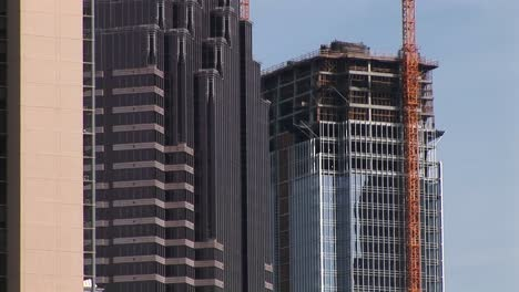 Panup-Of-Three-Tall-Buildings-In-The-City-Of-Atlanta-And-Then-Back-To-The-Skyline-Of-The-City