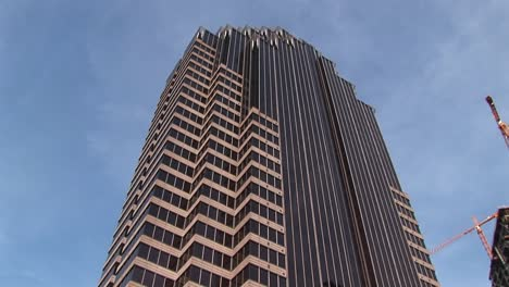 The-Camera-Pansup-From-The-Grounds-To-A-Tall-Skyscraper-In-Atlanta-Georgia